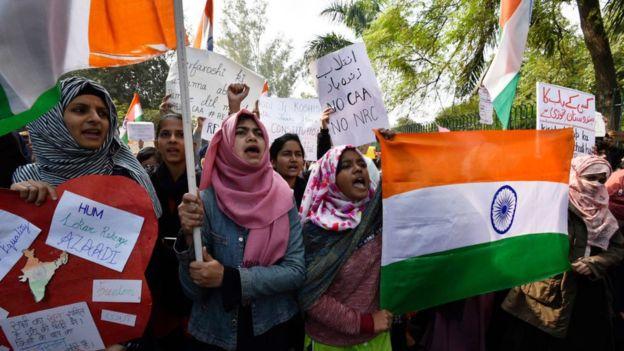 Proteste in India