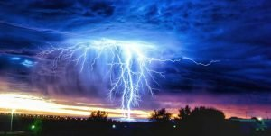 I forti temporali in Australia.